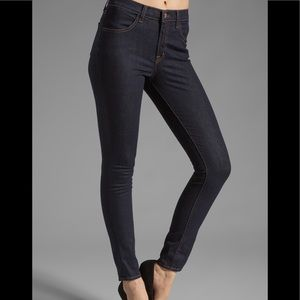 J Brand Maria High Rise Skinny In Starless, 25